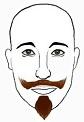 Sponsor Medium Moustache