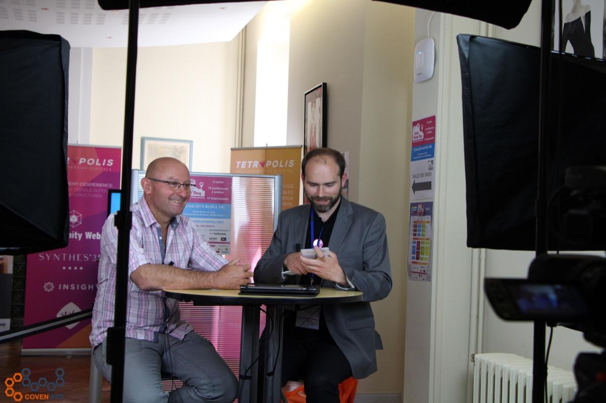 Olivier Andrieu, interview lors du WebCampDay 2015