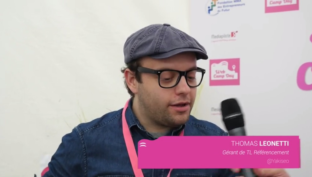 Interview de Thomas Leonetti : WebCampDay 2016