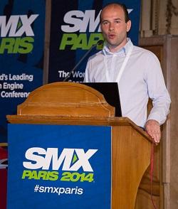 Aymeric Bouillat lors du SMX Paris 2014