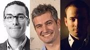 Aymen Loukil, Vincent Lahaye et Daniel Roch